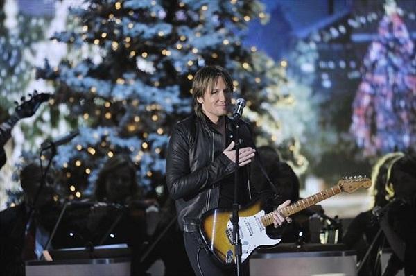 Keith Urban at CMA Country Christmas