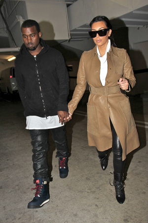 Kim Kardashian pregnant with Kanye West's child