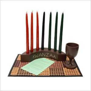 Kwanzaa Arc Candleholder & Celebration Set
