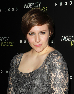 Lena Dunham at movie opening