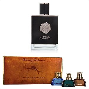 Vince Camuto for men eau de toilette and Tommy Bahama gift set