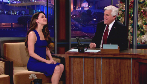 Megan Fox on Jay Leno
