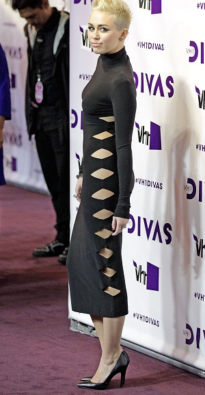 Miley Cyrus at VH1's Divas