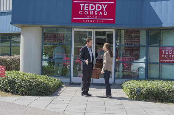 Teddy confronts Peggy on Nashville