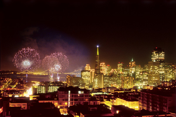 New Year's Eve in San Francisco