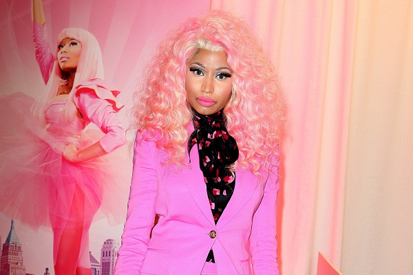 Nicki Minaj in pink, of course