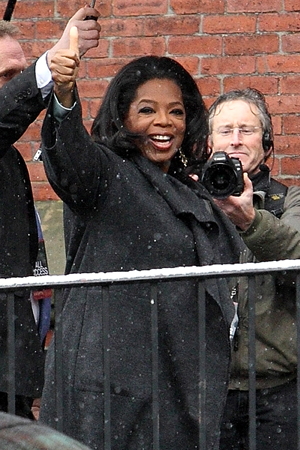 Oprah at Harvard