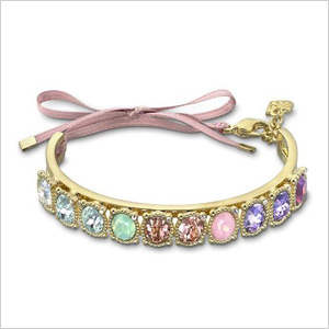 delicate Swarovski crystal bracelet 