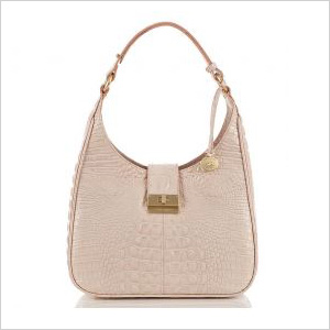 structured pink pastel purse