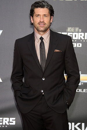 Patrick Dempsey at Transformers premiere