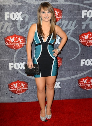 Rachele Lynae at the American Country Awards.