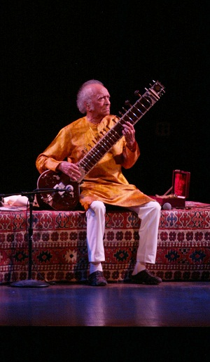 Ravi Shankar performing in D.C.
