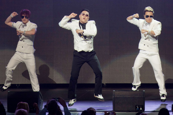 PSY at Jingle Ball 2012