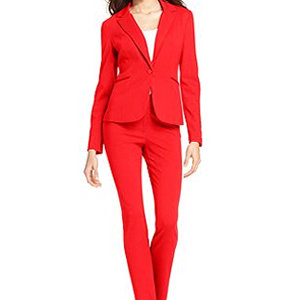 red suit for the alpha woman