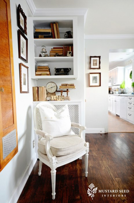 Miss Mustard Seed's office nook