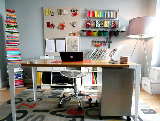 Sabrina Sotou0027s Home Office