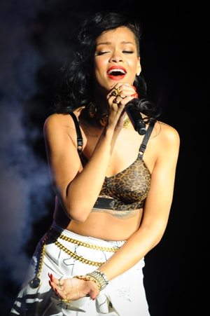 Rihanna in concert 
