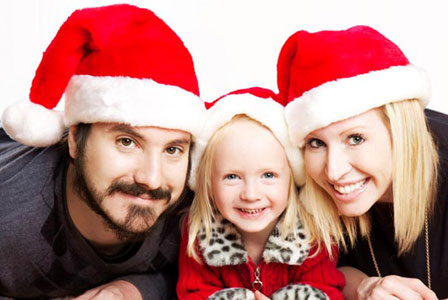 Create personalized photo Christmas cards
