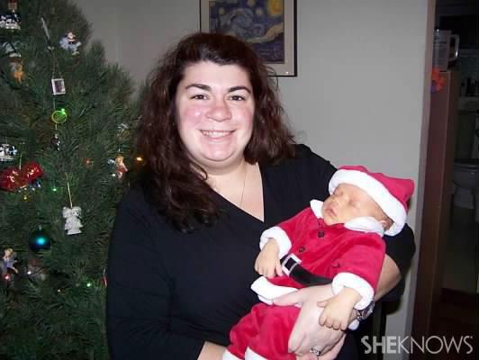 Niki's Christmas family photo