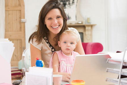 How this power social media mom got it started
