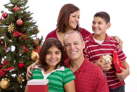 Happy holidays for stepfamilies