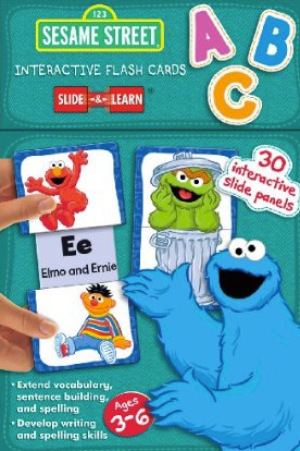 ABC: Sesame Street Slide and Learn Flash Cards.