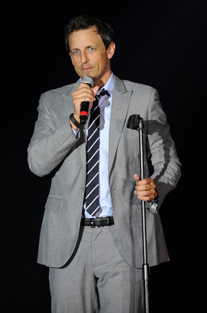 Seth Meyers onstage