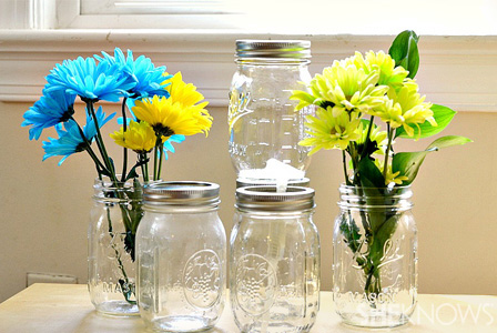 4 Unique DIY Mason jar projects