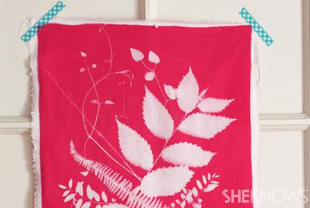 How to sun-dye fabric