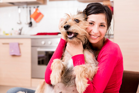 Women Knotted with Dogs