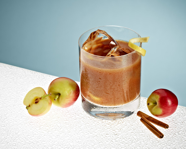 Black apple harvest cocktail