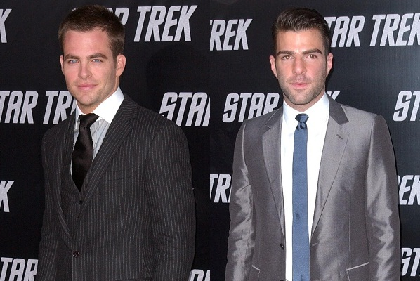 Star Trek's Zachary Quinto and Chris Pine