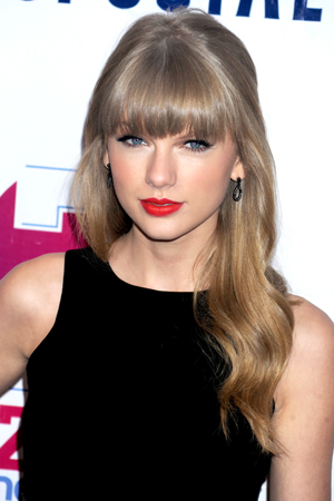 Taylor Swift at the Jingle Ball