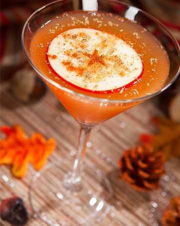 Sip a fanciful vodka cocktail