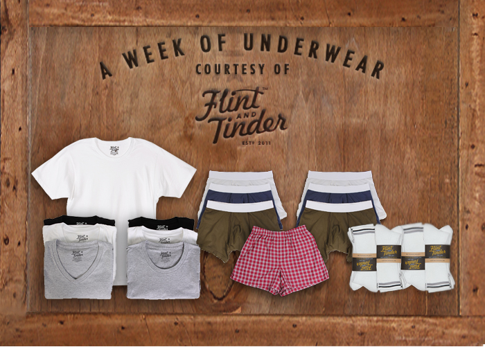 Flint and Tinder Underwear