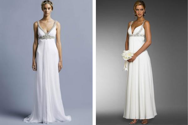 Steal the look: Designer wedding dresses
