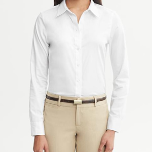 white blouse for the alpha woman