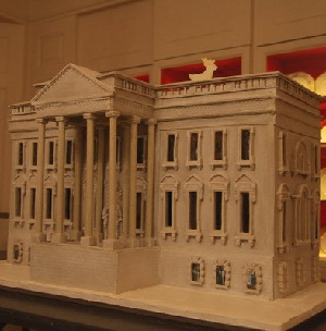 White House made of bread