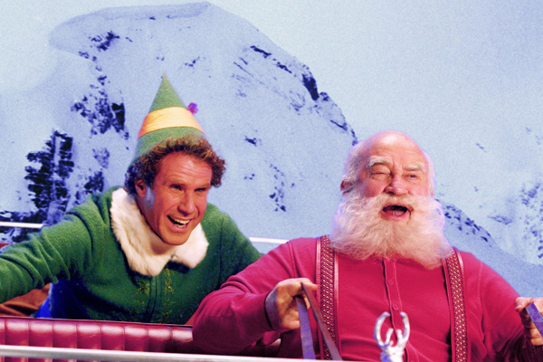 Will Ferell and Ed Asner in Elf
