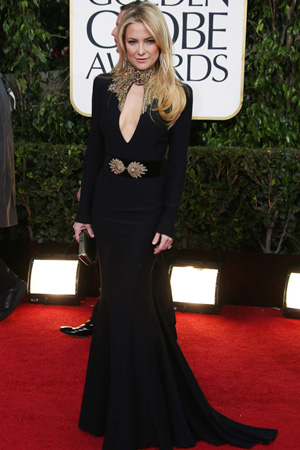 Kate Hudson at the 2013 Golden Globes