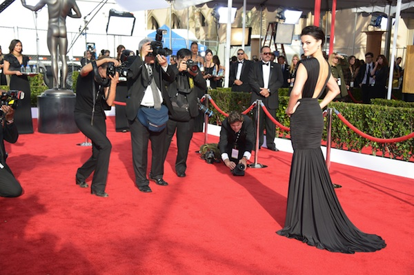 Jaimie Alexander at the 2013 SAG Awards