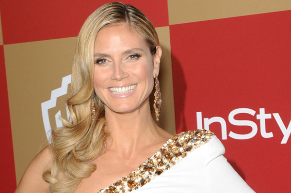 Heidi Klum at the 2013 Golden Globes