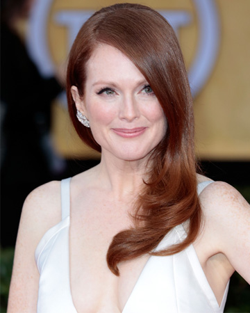 Julianne Moore at the 2013 SAG Awards