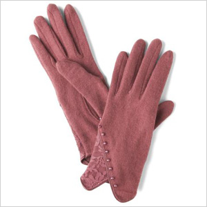 Retro-chic gloves