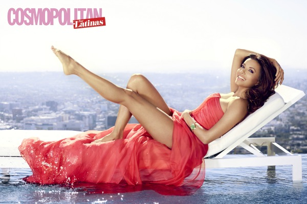 Eva Longoria covers Cosmopolitan for Latinas