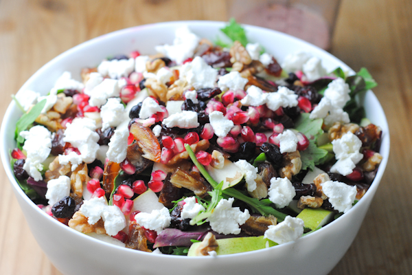 ... pomegranate salad tu b shevat salad with pomegranate dressing recipes