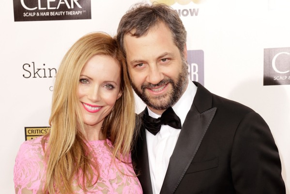 Judd Apatow and Leslie Mann at the Critic's Choice Awards