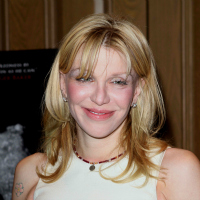Courtney Love at the Beware of Mr. Baker Screening