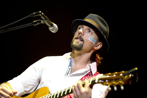Jason Mraz Performing Live in Amsterdam