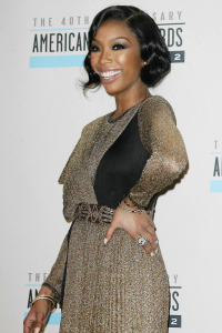 Brandy at the American Music Awards